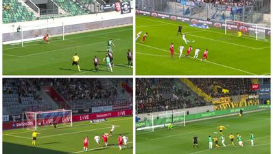 Schiedsrichter Alain Bieri sagt nach umstrittener Penalty-Wiederholung: «Wir haben keinen Interpretationsspielraum» – diese Bilder sagen etwas anderes