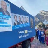 «Neger»-Fasnachtswagen in Wangs: Polizei ermittelt ++ FDP prüft Strafanzeige ++ Betroffener sagt: «Es ist das erste Mal, dass ich selbst rassistisch angegriffen werde»