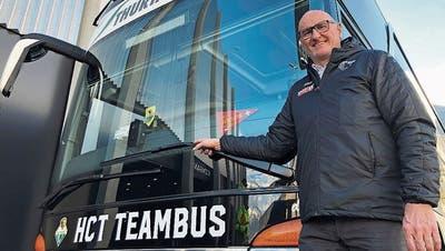 Seit zwölf Jahren chauffiertMarcel Stillhard verschiedene Mannschaften des HC Thurgau.