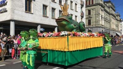 Verkehren heute in Luzern: Die beiden Ampeln auf dem Kornmarkt. (Bild: Sandro Renggli)