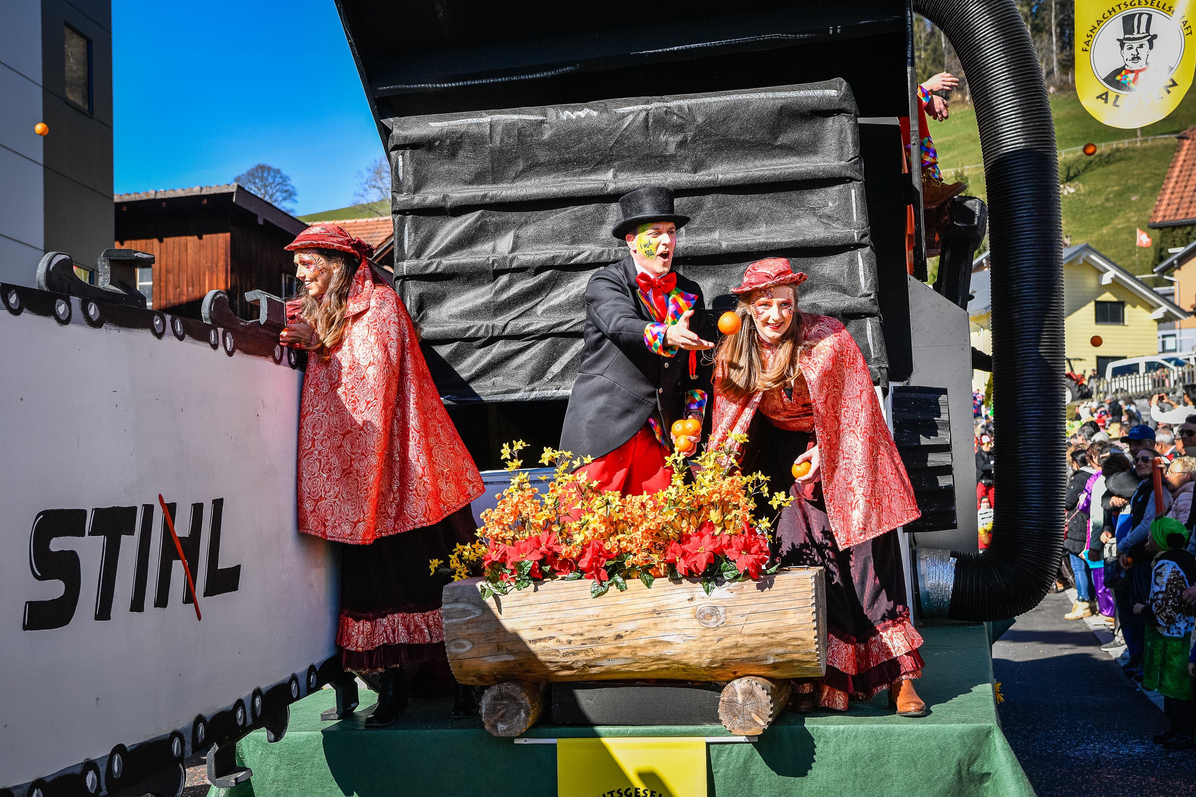 Die Alösler feiern ihr Jubiläum mit Sti(h)l.