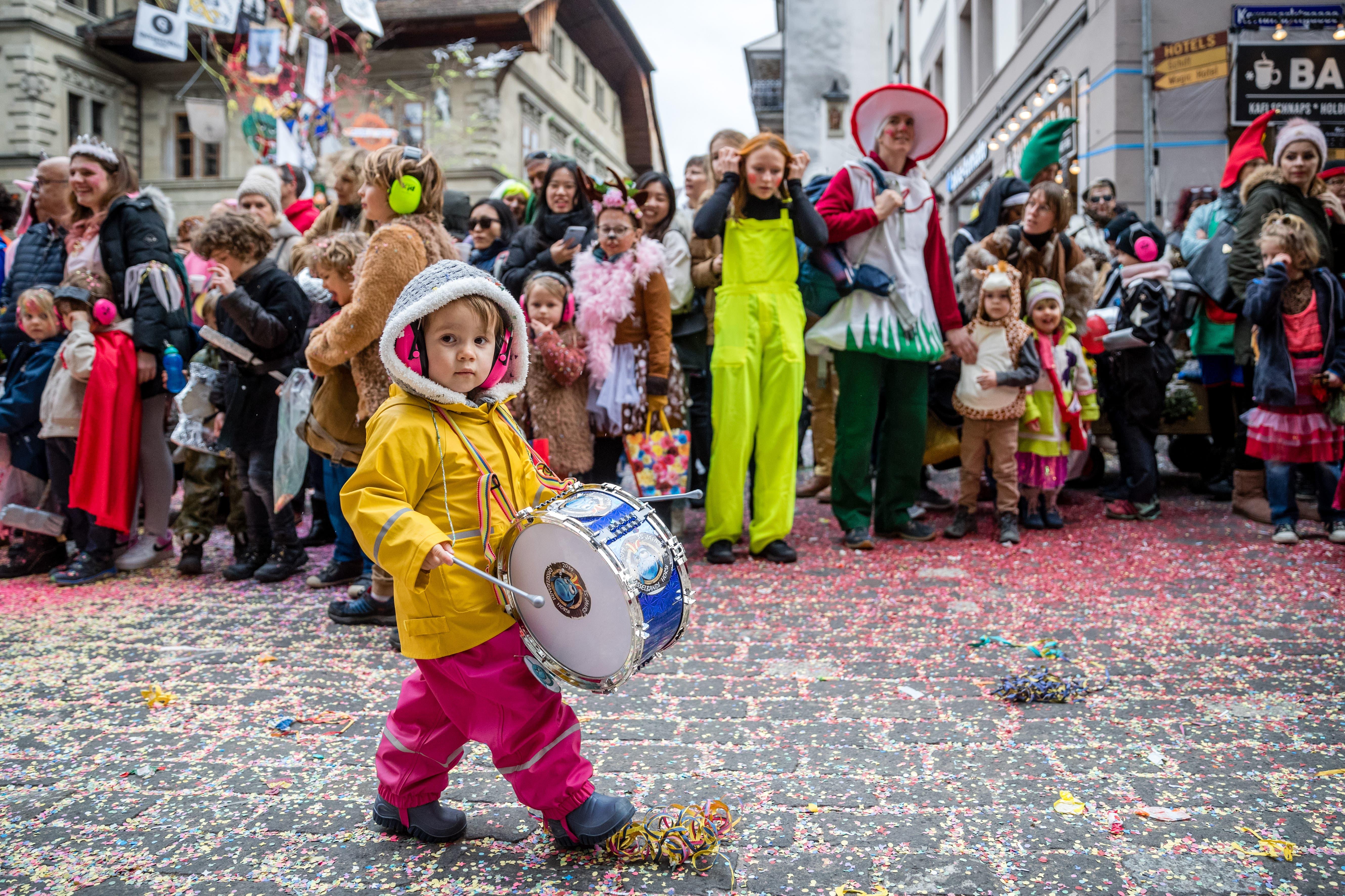 Impressionen des Chendermonschters in der Stadt Luzern.