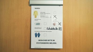 Die Schweizer Spitäler rüsten sich für das Corona-Virus. (Roland Schmid / AZ)