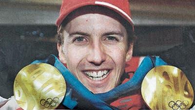 Damals: Simon Ammann – mit vier Goldmedaillen