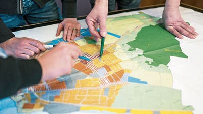 Der überarbeitete Zonenplan von Romanshorn: Im März legt ihn die Stadt öffentlich auf. (Bild: PD)