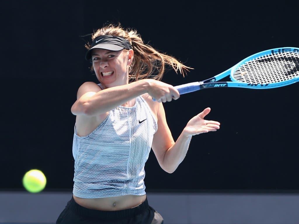 Maria Scharapowa sagt dem Tennis «Adieu»