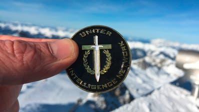 Das Logo von Uniter: Schwert, Eichenlaub und der Buchstabe T, der auch für ein Kreuz gehalten werden kann. (Bild: Uniter)