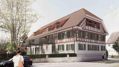 Nach dem Umbau soll der ehemaligen «Ochsen» in Wagenhausen gemäss dieser Visualisierung aussehen. ((Bild: PD))