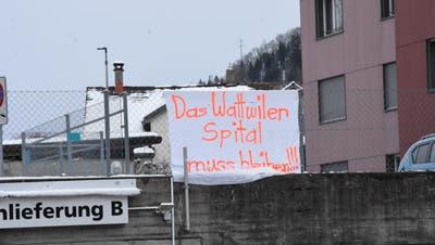 Bisher blieb der Protest in Wattwil bescheiden. (Bild: Urs M. Hemm)