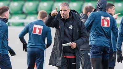 FCL-Coach Celestini formt seine Mannschaft weiter