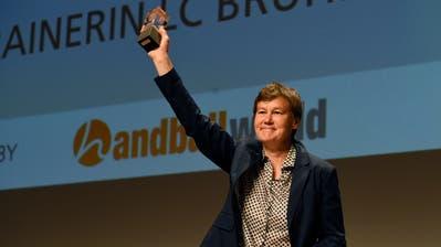 Handballexpertin Vroni Keller: 100 Länderspiele für die Schweiz (Bild Alexander Wagner)