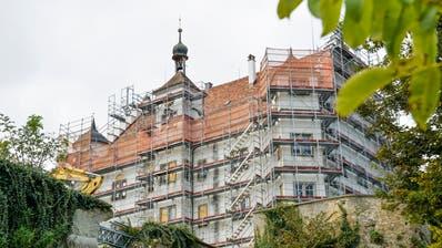 Schloss Sonnenberg bei Stettfurt befindet sich immer noch im Umbau. ((Bild: Donato Caspari))