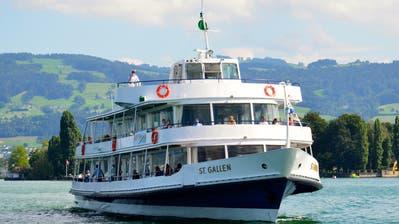 Die MS St. Gallen erhält derzeit einen neuen Motor. ((Bild: PD))