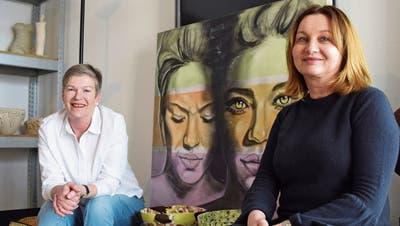 Ein Duo für die Kunst – Eine Doppelausstellung in Uzwil