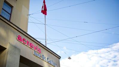 Die Acrevis Bank hat Fililalen von Bodensee bis Zürichsee. (Bild: Urs Bucher)