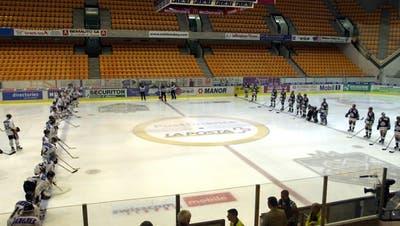 Spielabsagen in Schweizer Fussball, Geisterspiele im Eishockey