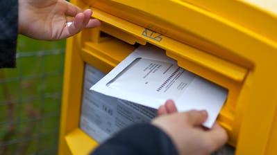 Noch bleibt gut eine Woche Zeit, um sich an den Wahlen in den Regierungs- und den Kantonsrat vom 8. März zu beteiligen. (Bild: Gaetan Bally/KEY)