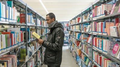 Fünf Jahre Bibliothek in der St.Galler Hauptpost: Lobrede auf ein Provisorium
