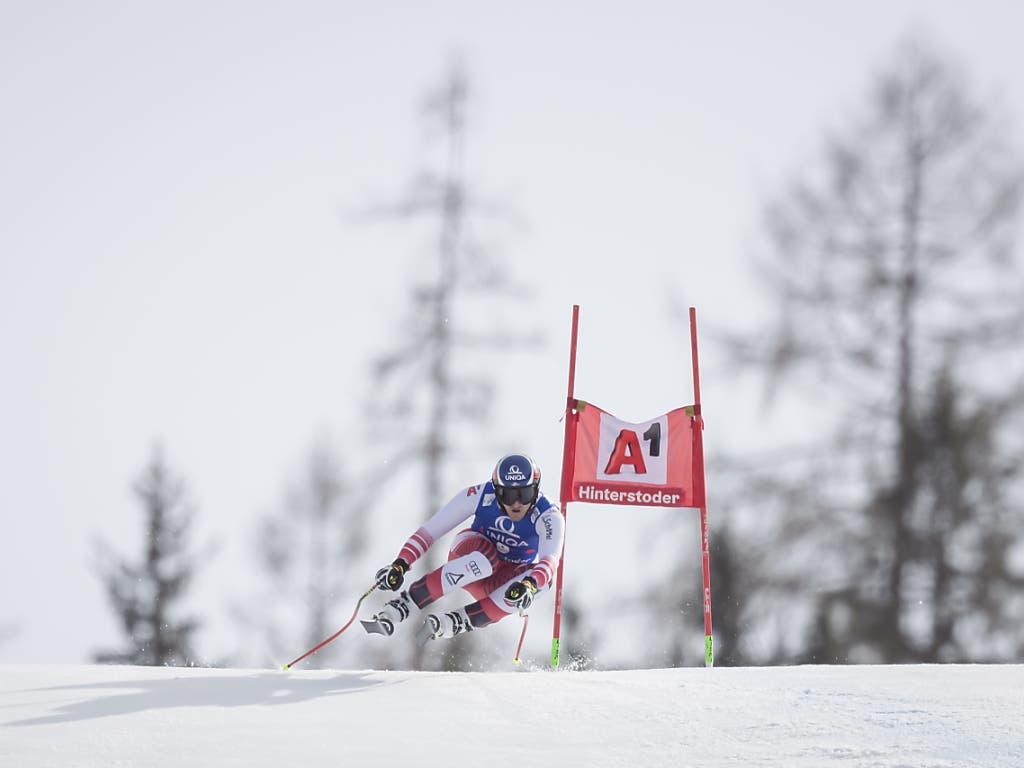 Matthias Mayer verpasste den Sieg um lediglich acht Hundertstel