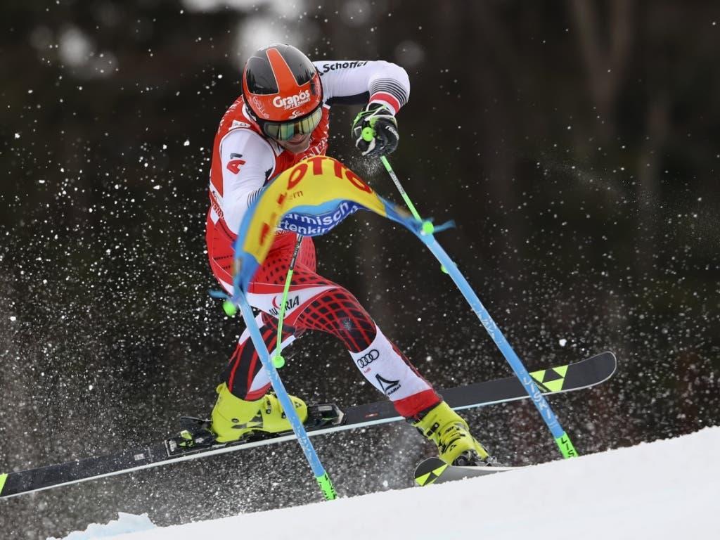ÖSV-Athlet in Schieflage: Roland Leitinger