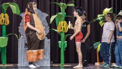 Probier's mal mit Gemütlichkeit: Der Frauenfelder Kinderhort Kurzdorf bringt «Das Dschungelbuch» auf die Bühne