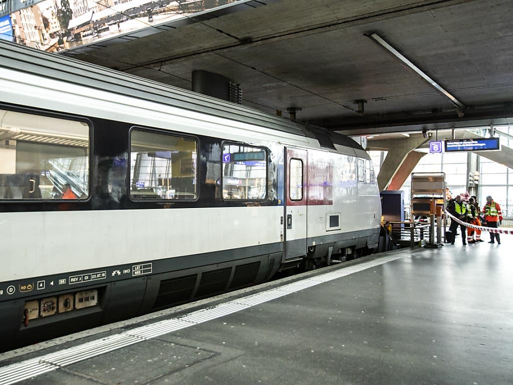 Der Bahnverkehr war wegen des Unfalls in Luzern aber nicht beeinträchtigt.