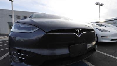 Tesla an der Börse soviel wert wie VW und BMW zusammen