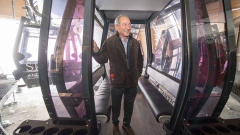 Der in der Schweiz bekannte Investor Samih Sawiris leitet ab sofort das Tagesgeschäft seines Orascom-Konzerns selbst. (Keystone)