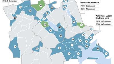 Gemeinderatssitze im Kanton Luzern sind umstrittener als 2016 – hier kommt es zu Kampfwahlen