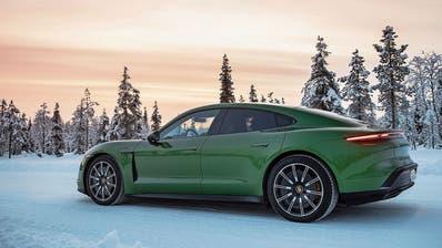 Probieren geht über studieren: Porsche setzte den Taycan den extremen Bedingungen Lapplands aus. (Bild: zvg)