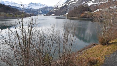 Lungern hat mit dem See für den Kanton Obwalden eine grosse Bedeutung. (Bild: Robert Hess, 30. Januar 2020)