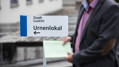 Die Wähler in der Stadt Luzern erhalten auf den 29. März eine GLP-Liste mit nur einem Namen darauf. (Dominik Wunderli)