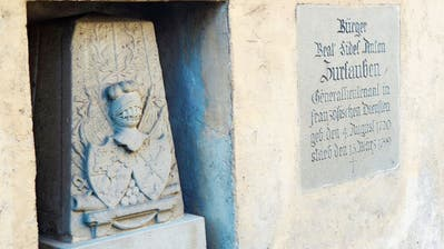 HINGESCHAUT: Ein «degradierter» Zuger Aristokrat