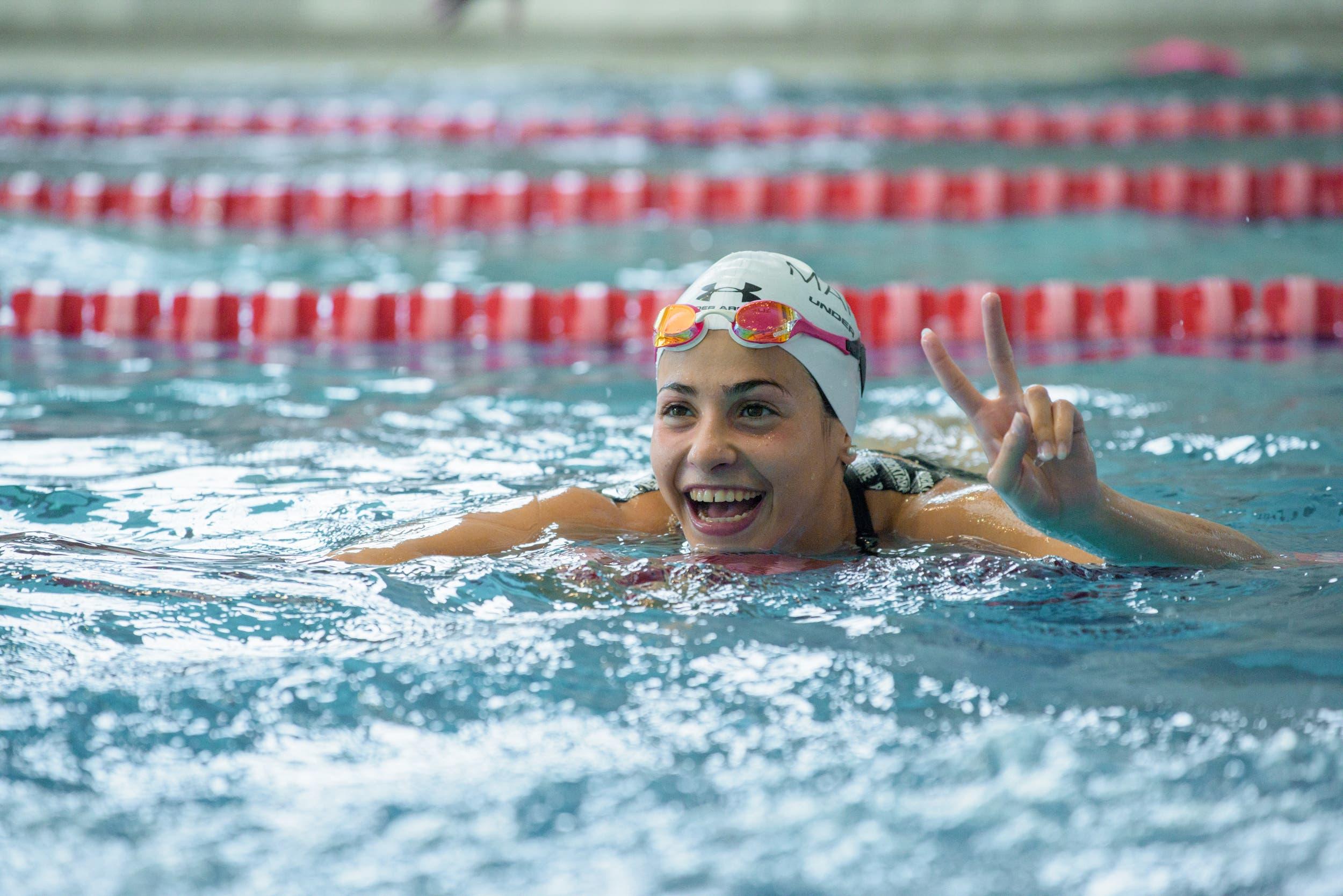 Letztlich ist Yusra Mardini aber immer noch eine talentierte Schwimmerin.