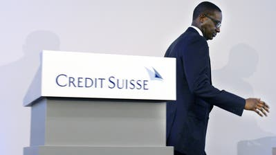 Tidjane Thiam verlässt die Credit Suisse. (Walter Bieri / Keystone/21. Oktober 2015)