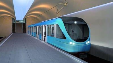 Aus einer Metro für Luzern wird nichts. ((Visualisierung: PD))