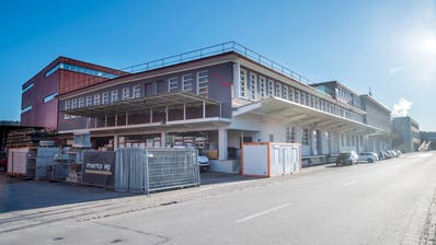 Die Marty Bauunternehmung AG in Bischofszell, hier der Hauptsitz. Die gekündigten Mitarbeiter fordern nun einen Sozialplan. (Bild: Reto Martin)