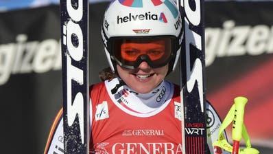 Corinne Suter wird Fünfte bei Rebensburgs Siegpremiere in der Abfahrt von Garmisch