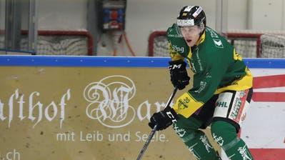 Frantisek Rehak und der HC Thurgau bereiten sich schon jetzt auf die Playoff-Viertelfinals vor. Fragt sich nur: Bleibt die Rapperswiler Leihgabe für diese Zeit beim HCT? (Mario Gaccioli (Weinfelden, 31. Januar 2020))