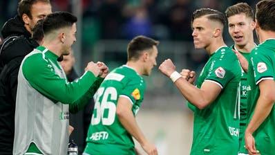 Das Spiel des FC St.Gallen gegen Servette im Liveticker