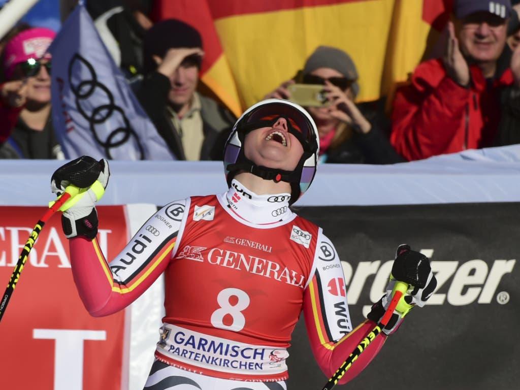 Am Samstag der Siegesjubel, am Sonntag das vorzeitige Saisonende: Viktoria Rebensburg erlebt in den Heimrennen in Garmisch sportliche und emotionale Extremsituationen