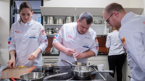 Marco Steiner ist Teammanager des Luzerner Kochkunstteams. (Bild: Boris Bürgisser (Littau, 28. Januar 2020)