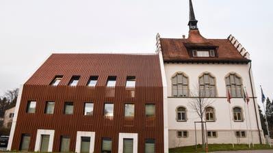 Das Bezirksgericht Münchwilen. ((Bild: Roman Scherrer))