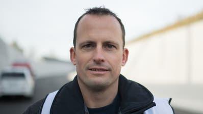 Dominique Krapf, Technischer Leiter des Feuerwehrverbandes Toggenburg. (Bild: Benjamin Manser)