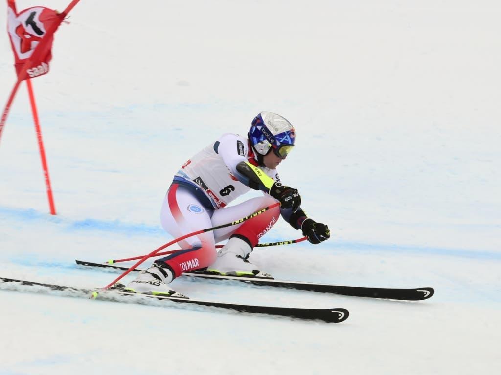 Alexis Pinturault sicherte sich auch den Sieg in der Disziplinenwertung Kombination