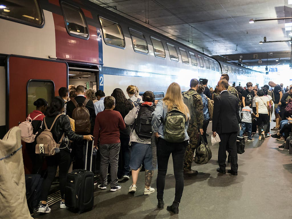 Die SBB haben 2019 täglich 1,3 Millionen Passagiere befördert, so viele wie noch nie.