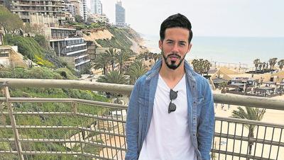 Ex-FCL-Spieler Jahmir Hyka in Netanja an der israelischen Mittelmeerküste. (Bild: PD (März 2020))