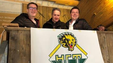 Die Ende 2019 in den Verwaltungsrat gewählten Ralph Ott, Cäsar Müller und René Fontana (von links) bilden das Gerüst des neuen Verwaltungsrats des HC Thurgau. (Matthias Hafen (23. Dezember 2019))