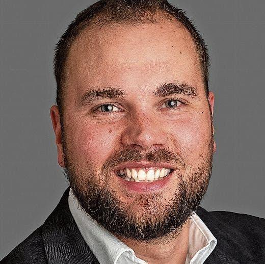 Benjamin Büsser, Stadtparlamentarier SVP, Motionär «Kundenfreundlicheres Parkierungsreglement».