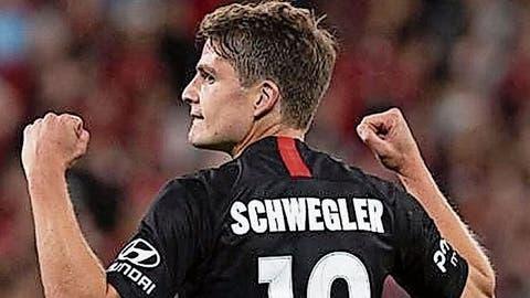 Ex-FCL-Profi Pirmin Schwegler hat sich seinen Lebenstraum in Australien erfüllt, seit Sommer spielt der Mittelfeldmann für die Western Sydney Wanderers. (Bilder: Western Sydney Wanderers FC (Sydney, März 2020))